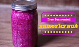 Live Fermented Sauerkraut
