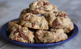 Cinnamon Pecan Cookies (Gluten, Sugar and Dairy Free)