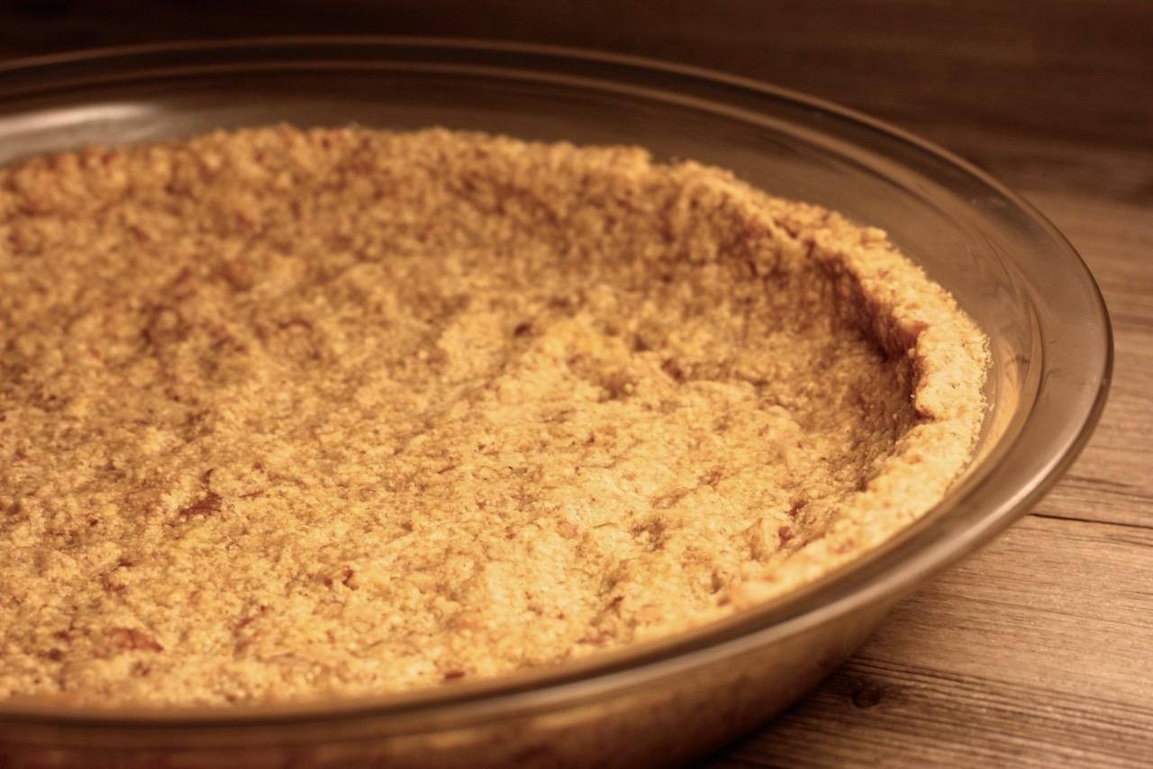 Oat Flour Gluten Free Crust (Nuts Optional) - Spoonful of